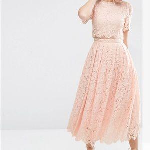 Asos crop top Dress